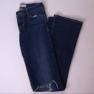 abercrombie Distressed Bootcut Jeans, Size 14